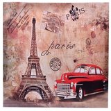 Canvas decorativ Paris retro